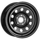 16 X 7 BLACK MODULAR-FREELANDER 1 - Tubeless - CURRENTLY OUT OF STOCK - DUE END OF APRIL 2021