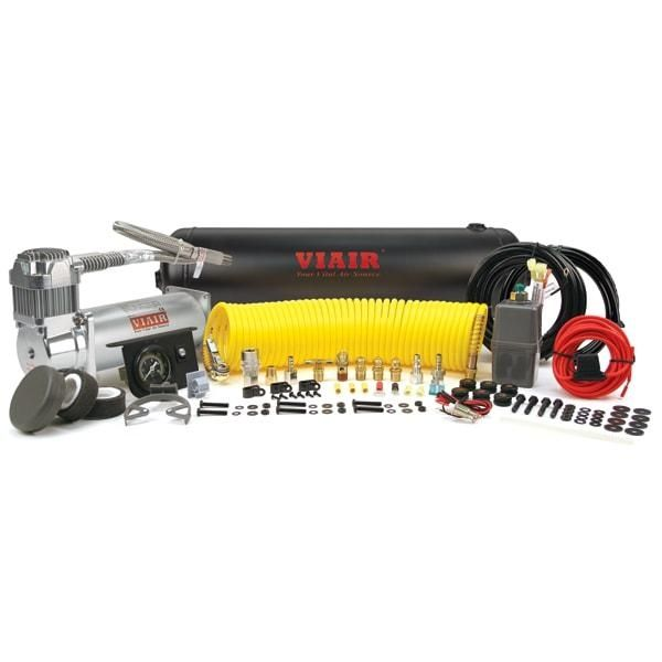 Constant Duty Onboard Air System 12V 150 PSI Compressor 2.5 Gal Tank