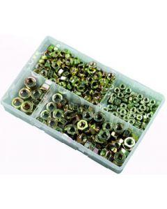 Assorted Box of Metric Steel Nuts