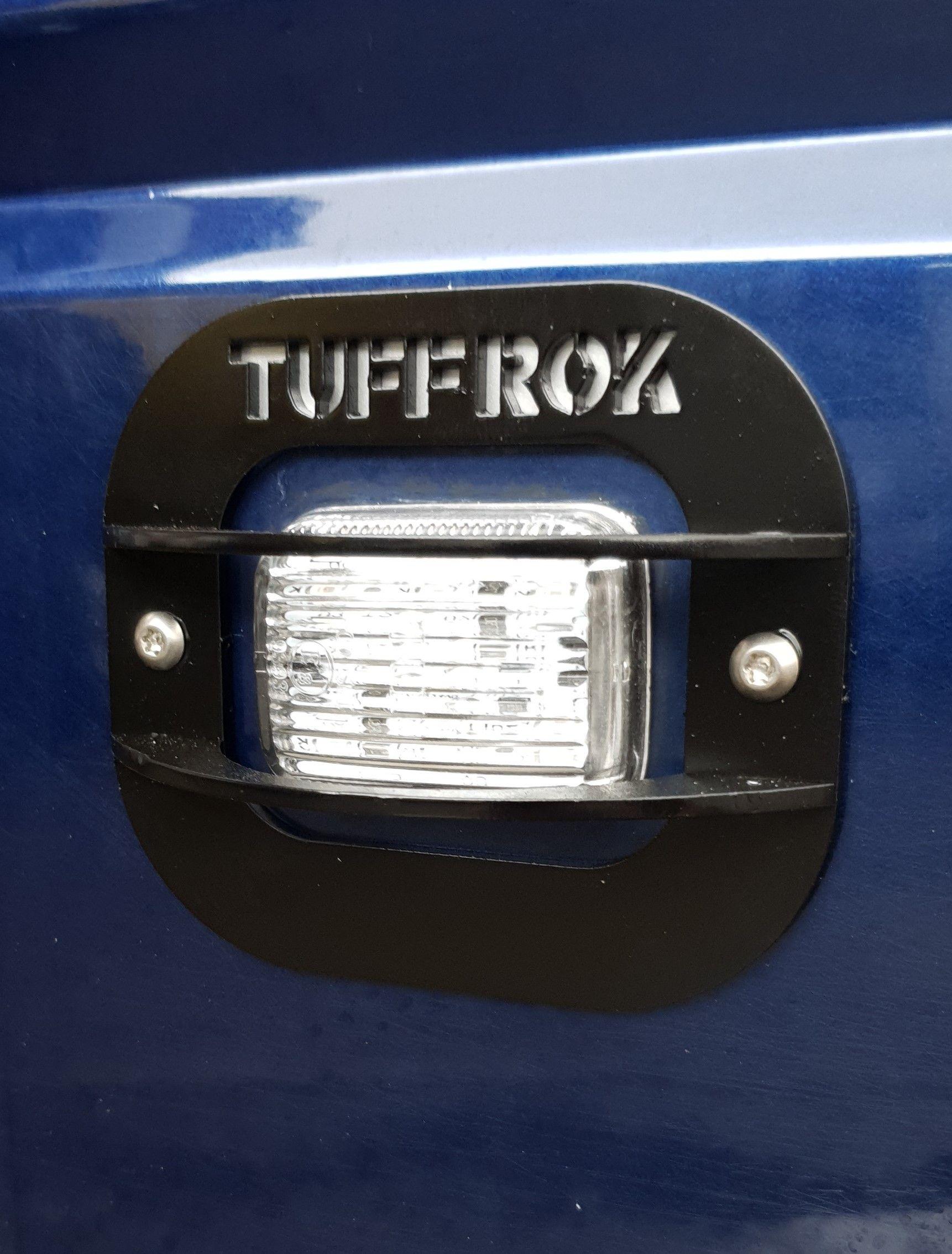 Tuff-Rok D1, P38, TDI Defender Side Repeater Guards