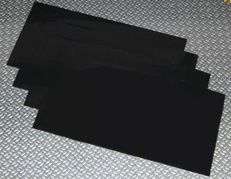 Tuff-Rok Universal Black Mudflaps