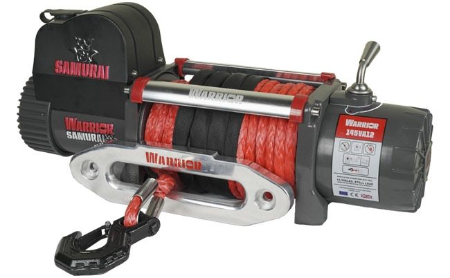 Samurai Next Generation 14500 Electric Winch with Synthetic Rope | 12V