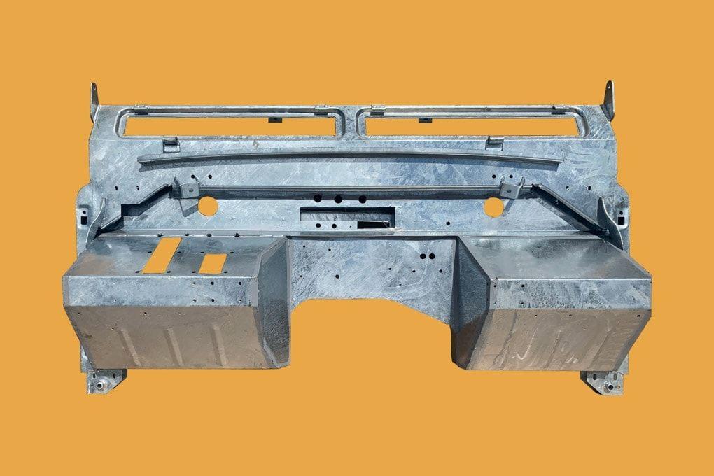 Series 2 Galvanised Bulkhead - RHD