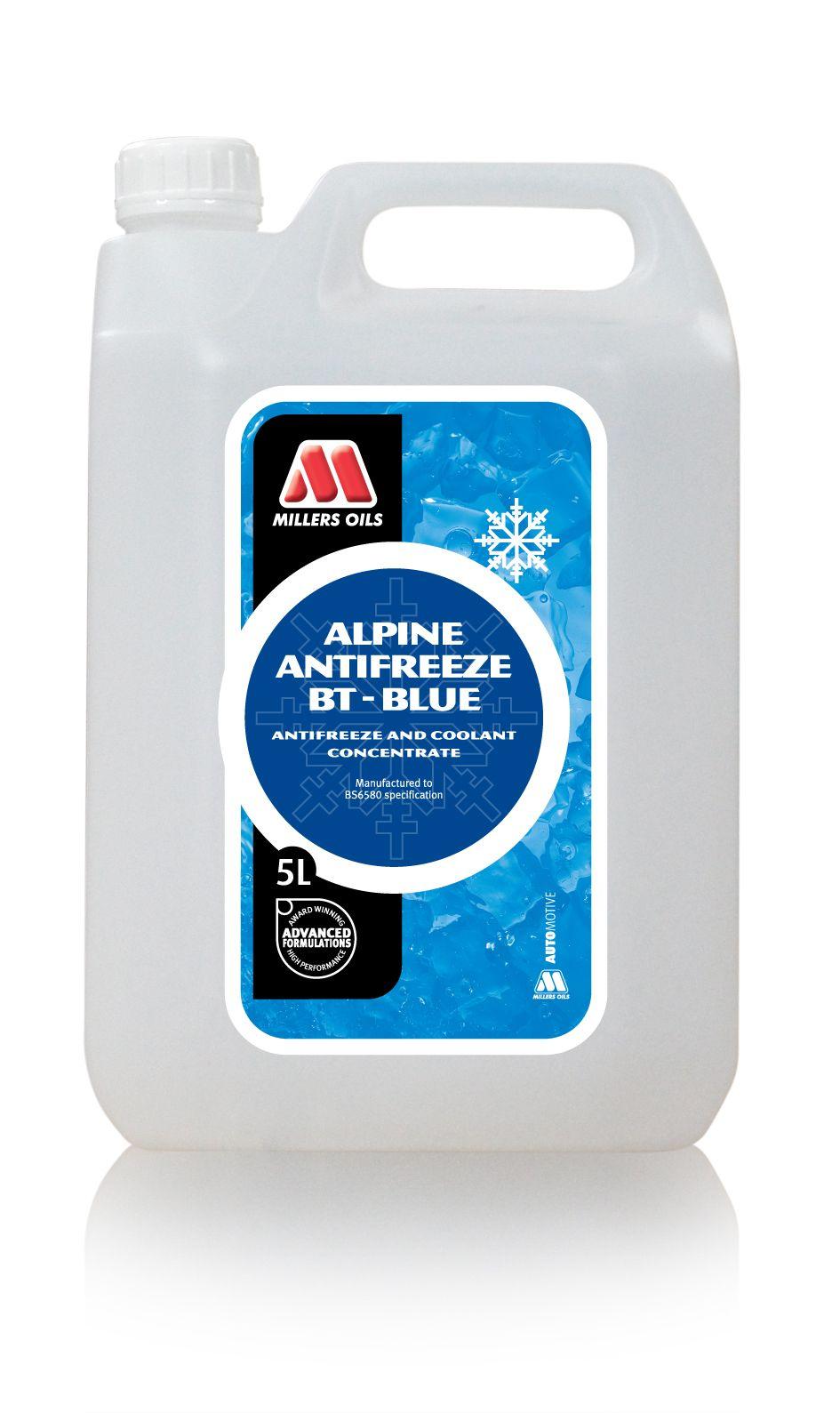 Alpine Antifreeze BT-Blue 2 year - 5 litres