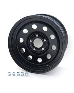 16x8 Black Modular Wheel for Discovery 2