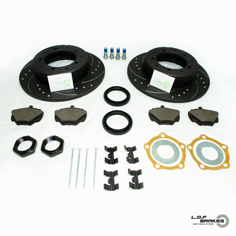 Defender 90 POWERspec Rear Brake Kit