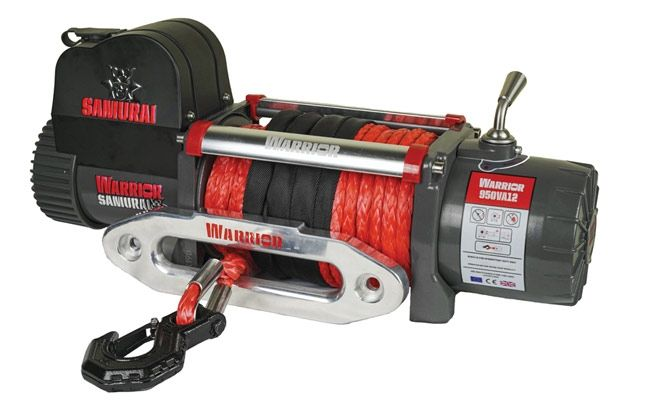 Samurai Next Generation 9500 Electric Winch with Synthetic Rope | 12V
