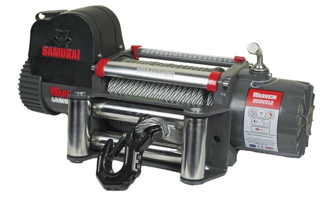 Samurai Next Generation 9500 Electric Winch with Steel Cable | 24V