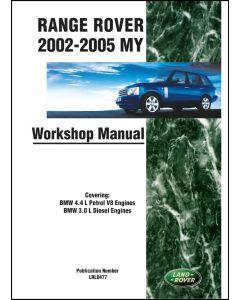 RANGE ROVER L322 WORKSHOP MANUAL 2002-2005MY