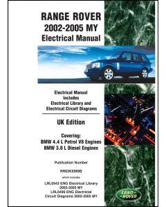 RANGE ROVER L322 ELECTRICAL MANUAL UK 2002-2005MY