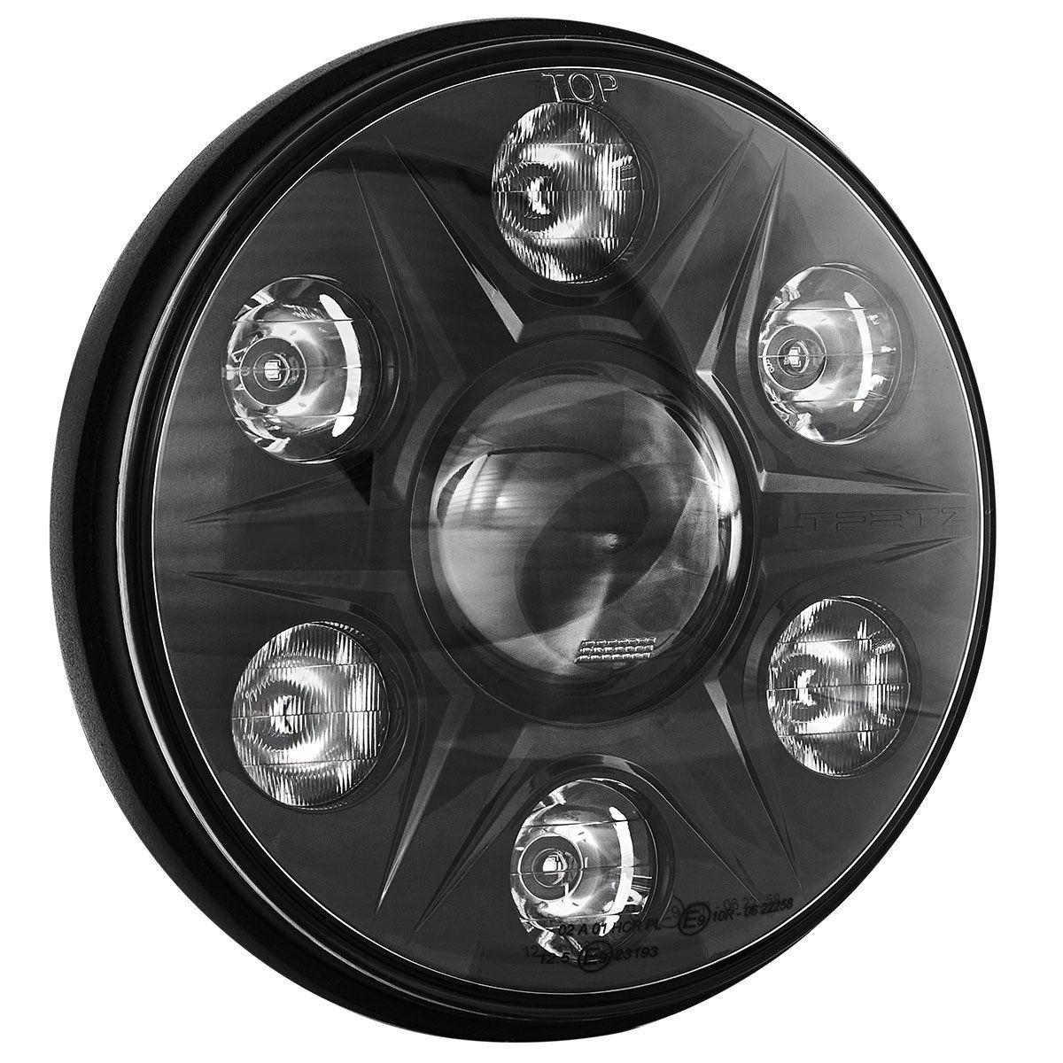 "LTPRTZ 7"" LED Headlights Phantom | RHD Pair"