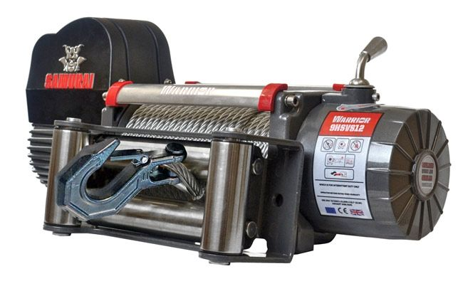 Samurai Next Generation 12000 Electric Winch with Steel Cable | 24V