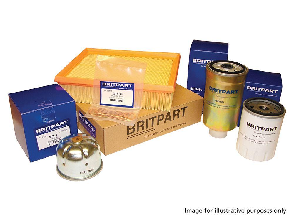 Filter Kit - Range Rover P38 Diesel to Dec 95 - Britpart