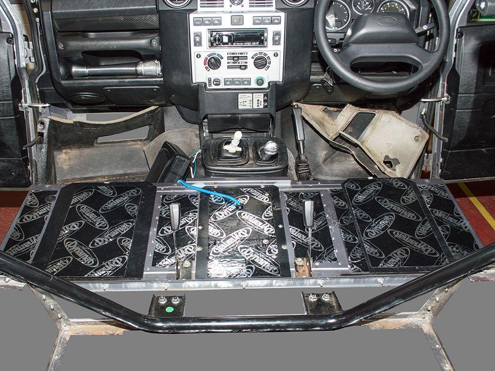 Dynamat Xtreme Sound Deadening Kit - Seat Box - Defender 2007 Onwards