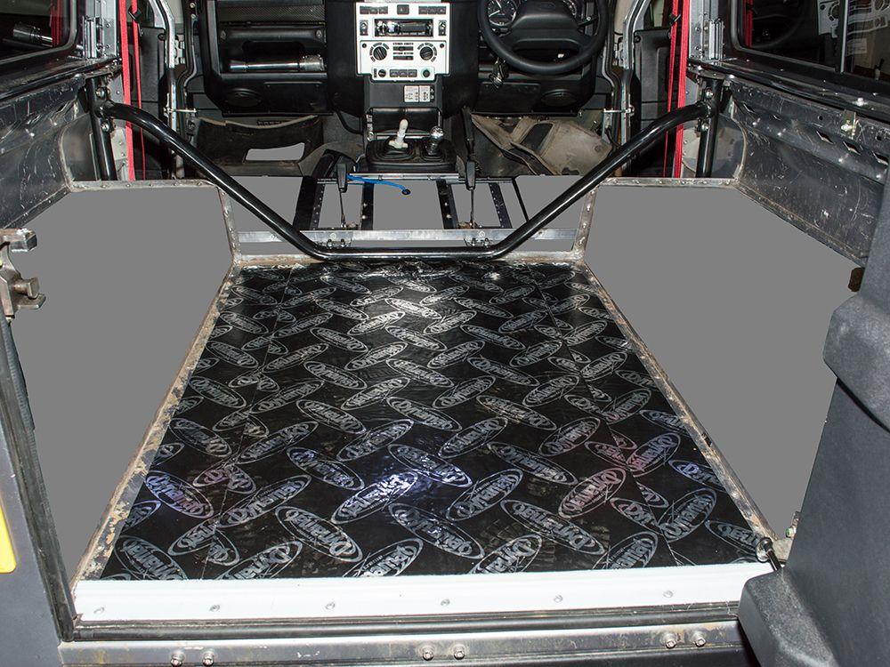 Dynamat Xtreme Sound Deadening Kit -Rear Tub Floor - Defender 90