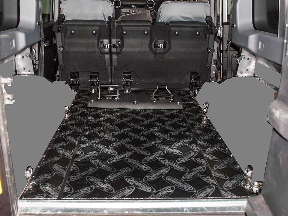 Dynamat Xtreme Sound Deadening Kit -Rear Floor - Defender 110 2007 onwards Station Wagon/Utility