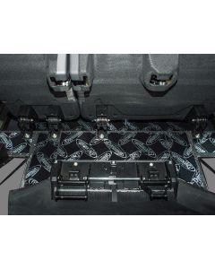 Dynamat Xtreme Sound Deadening Kit -Rear Row Floor / Under Seats - Defender 110 2007 onwards Station Wagon/Utility