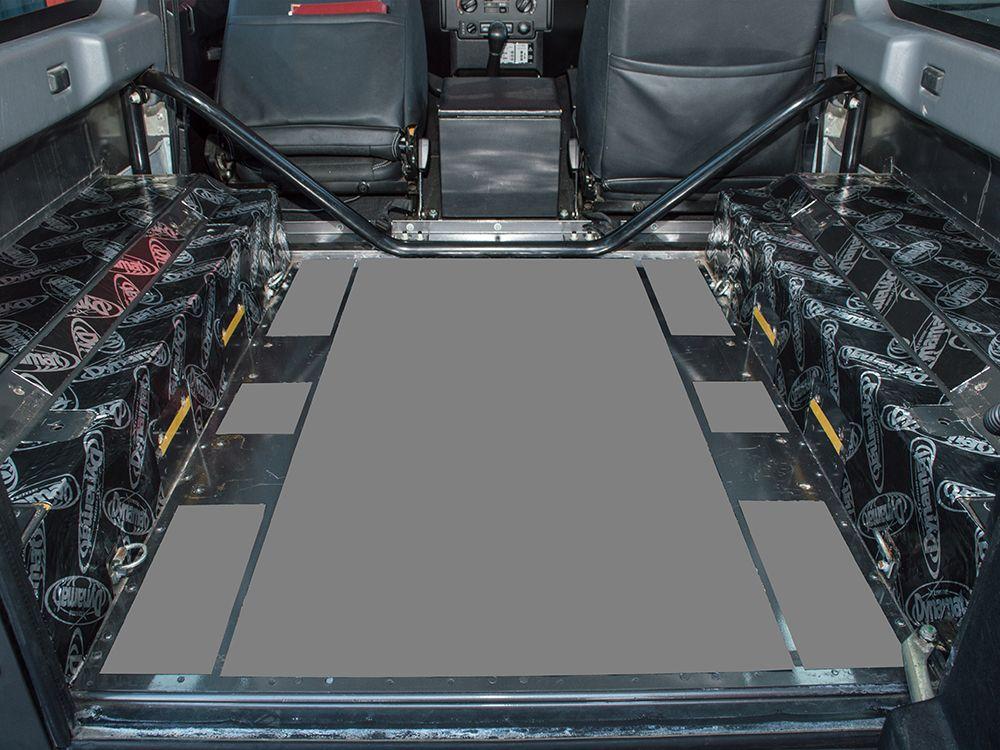 Dynamat Xtreme Sound Deadening Kit - Rear Arches - Defender 90 - 2007 onwards County