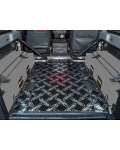 Dynamat Xtreme Sound Deadening Kit - Rear Floor - Defender 90 - 2007 onwards County
