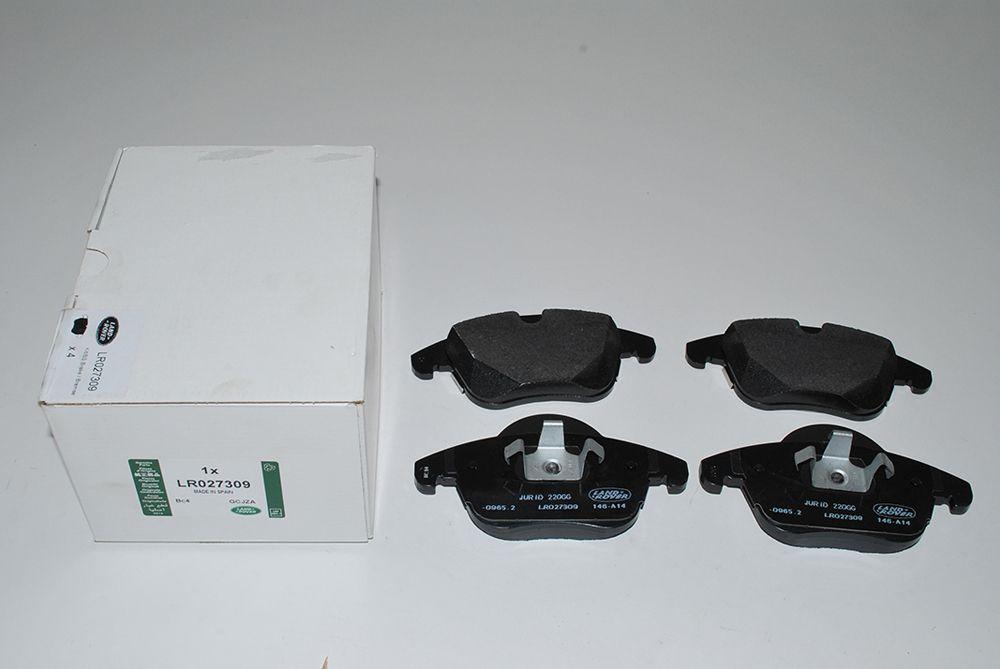 Front Brake Pads - Genuine LR