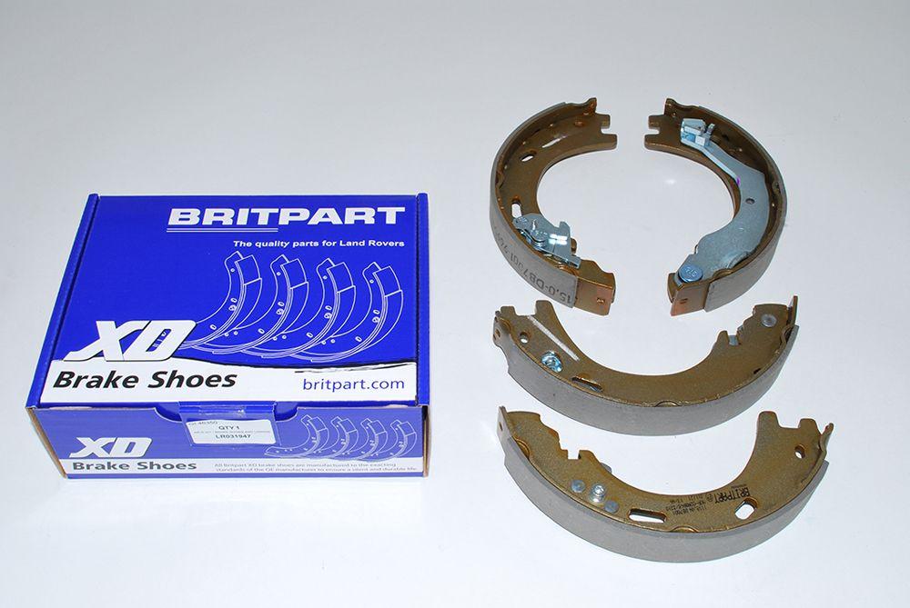Hand Brake Shoe Set - Britpart XD