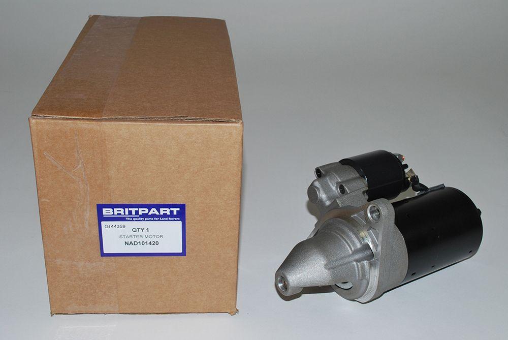 Starter Motor - 1.8 Petrol