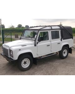 Safety Devices Roll Cage - 10 point Full External Bolt-in Roll Cage - Black - 110 Double Cab - NOT ELIGIBLE FOR FREE DELIVERY