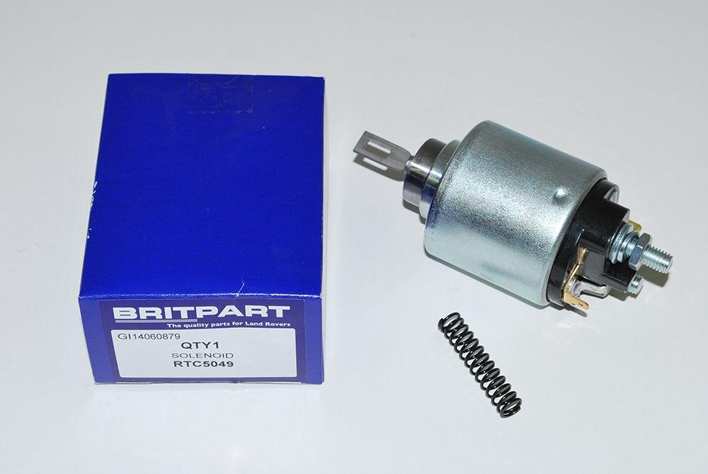 Starter motor solonoid for M78R starter