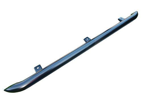 Black Steel Side Protection Tubes