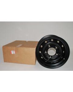 """16x6.5 """" Black Wolf Wheel - Genuine Land Rover"""