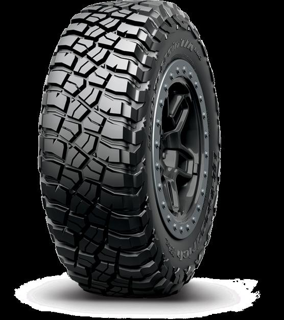 255/65R17 BF Goodrich Mud Terrain T/A KM3 Tyre Only