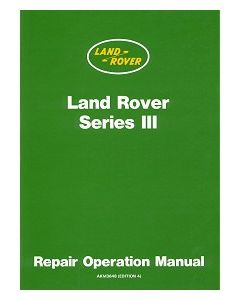 Land Rover Series 3 Official Workshop Manual