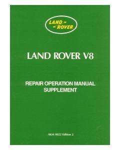 Land Rover Series 3 V8 Supplement