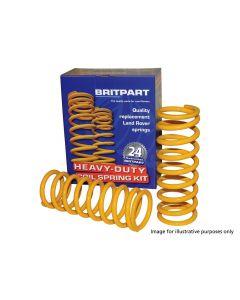 Britpart HD Yellow Coil Springs (pair) - Rear + 40MM Lift