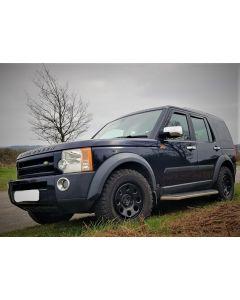 265/60R18 BF Goodrich All Terrain T/A KO2 Tyre fitted and balanced on 18x8 Disco 3 Gloss Black Modular Wheel