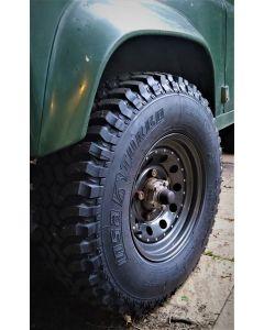 235/85R16 Insa Turbo Dakar Tyre Fitted and Balanced on 16x7 Anthracite Modular Wheel