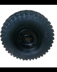 "265/70R16 Insa Turbo K2 Mud tyre fitted and balanced on 16 x 8"" Disco 2 / RRP38 Black modular steel rim"