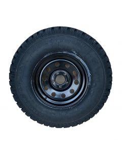 "265/75R16 Insa Turbo Ranger  tyre fitted and balanced on 16 x 8"" Disco 2 / RRP38 Black modular steel rim"