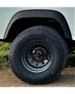 265/75R16 General Grabber AT2 Tyre Fitted and Balanced on 16x8 Anthracite Modular Wheel