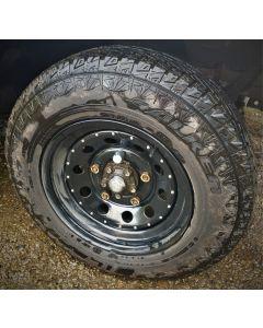 "Buy 205R16 Falken A/T All-Terrain tyres fitted/balanced on 16 x 7"" modular steel rim."