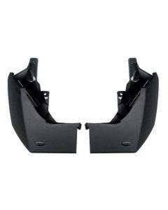 Rear Mudflaps (Pair)  - Unpainted bumper