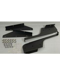 Tuff-Rok Defender 110 Mud Flap Brackets in 2mm Stainless Steel