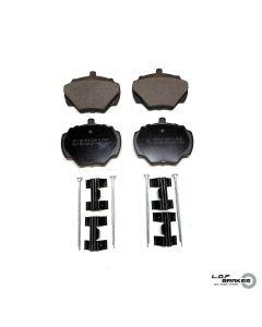 Defender 110 Rear Pads, Axle Set - LOF Road Spec