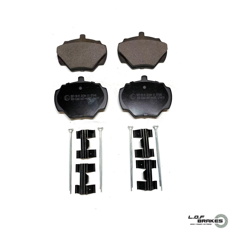Defender 110 Rear Pads, Axle Set - LOF Power Spec