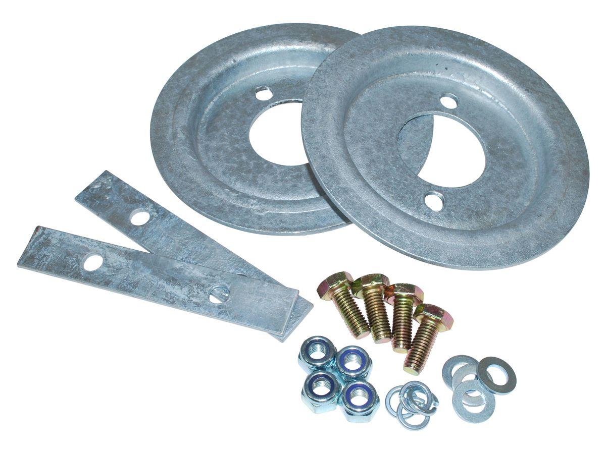 Galv Rear Spring Seat Fitting Kit 90