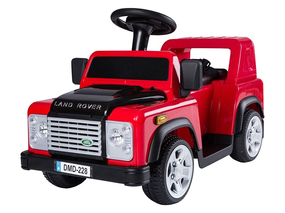 Sit-On Defender - Red - DELIVERY WITHIN UK ONLY