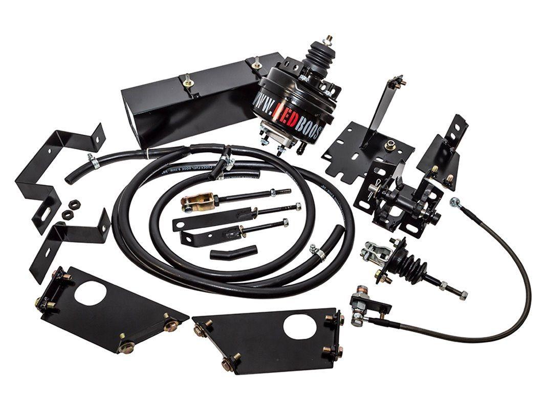 Red Booster Servo Clutch Kit - Defender Puma LHD