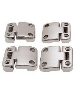Stainless Steel Second Row Door Hinges & Brackets