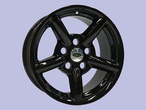 18x8 Zu Alloy Rim - Gloss Black - includes adaptor ring