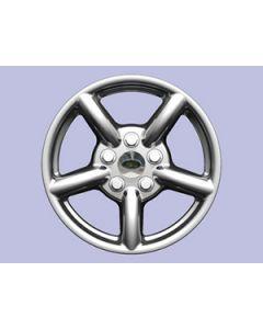 18x8 Zu Alloy Rim - Silver - includes adaptor ring